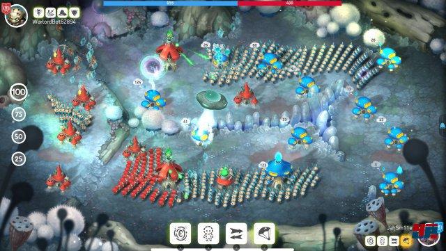 Screenshot - Mushroom Wars 2 (Mac)
