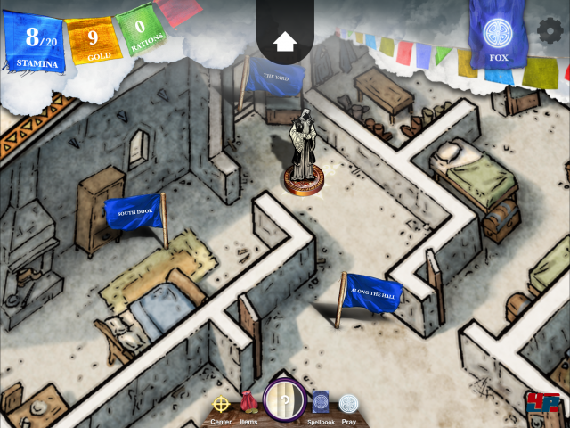 Screenshot - Sorcery! 4- The Crown of Kings (iPad) 92535369