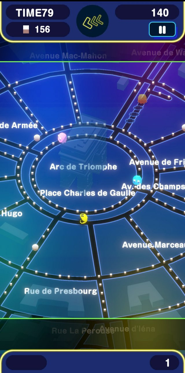 Screenshot - Pac-Man Geo (Android, iPad, iPhone) 92626642