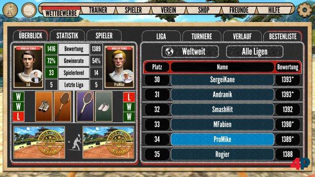 Screenshot - World of Tennis: Roaring '20s (PC)