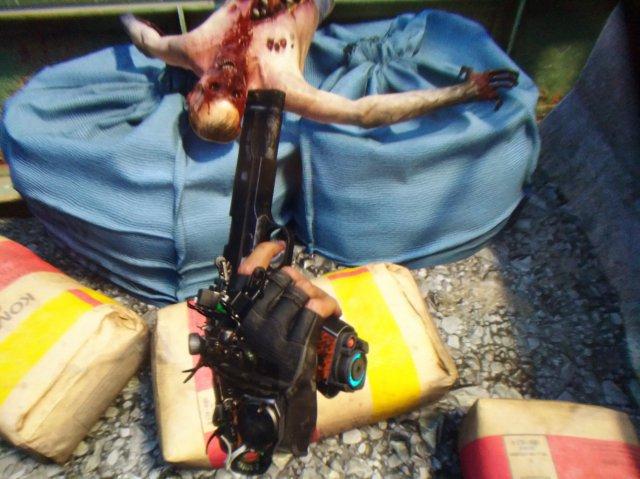 Ein Blick durch die Linse auf Half-Life: Alyx im hochaufgelöstem Kabel-Betrieb...