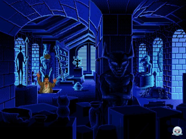 Screenshot - Indiana Jones and the Fate of Atlantis (PC)