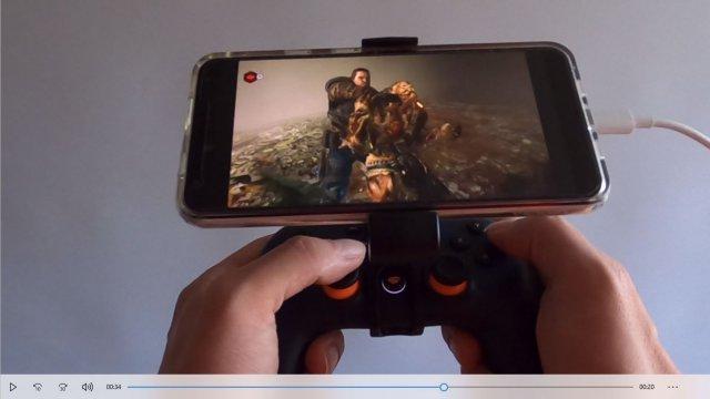 Gears 5 am Handy spielen mit einem Stadia-Controller: xCloud macht