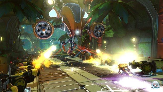 Screenshot - Ratchet & Clank: QForce (PlayStation3)