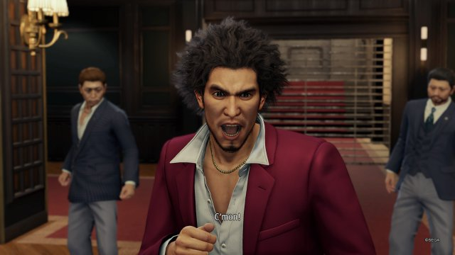 Neuer Held, alte Macken: Schreien müssen Yakuza-Charaktere alle mal.