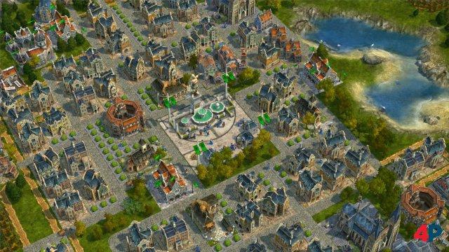 Anno 1701 war der erste Anno-Titel, der auf 3D-Grafik setzte und von Related Designs entwickelt wurde. Später wurde das Studio zunächst in Ubisoft Blue Byte und danach in Ubisoft Mainz umbenannt.