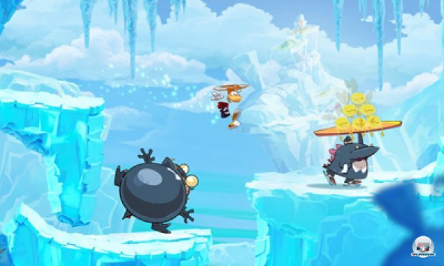 Screenshot - Rayman Origins (3DS) 2367057