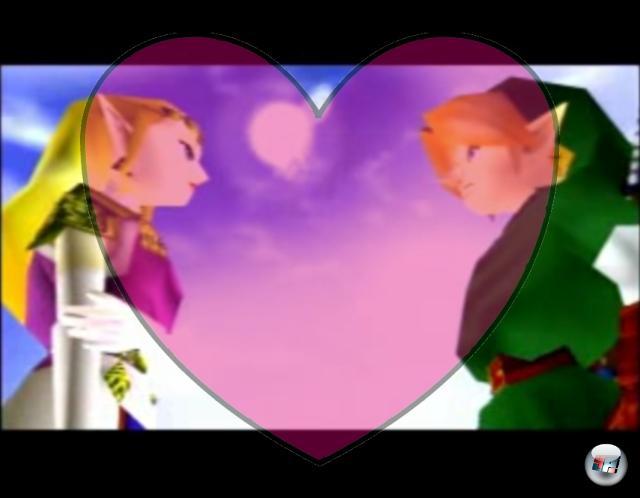 <b>Link und Zelda (The Legend of Zelda)</b><br><br>Okay, die beiden knutschen nie, aber so oft wie Link seine Zelda schon gerettet hat, muss mehr dahinter stecken als nur Berufsethos. Immerhin haut er wieder und wieder ein jedes Mal größer werdendes Zauberschwein für sie zu Klump! Die Beziehung ist nicht immer einfach - immerhin hat Zelda in Twilight Princess versucht, Link um die Ecke zu bringen. Okay, sie war zu dem Zeitpunkt nicht ganz Herrin ihrer Sinne, da von Ganondorf besessen, aber trotzdem. 1909388