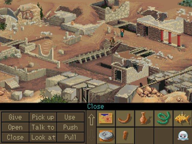 Screenshot - Indiana Jones and the Fate of Atlantis (PC) 2283632