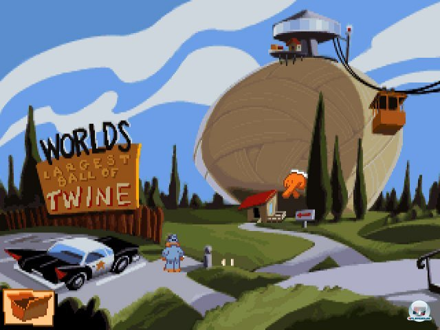 Screenshot - Sam & Max Hit the Road (PC) 92431727