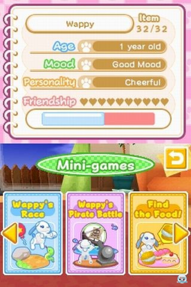 Screenshot - Wappy Dog (NDS) 2254212