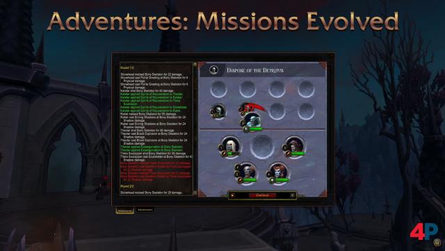 Das Missionssystem wird komplett überarbeitet.