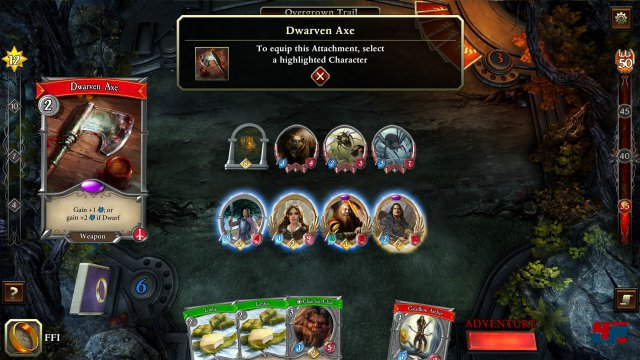 Screenshot - The Lord of the Rings: The Living Card Game (Mac)