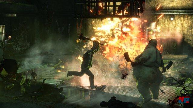 In der Demolition-Klasse kann man ein herrliches Feuerwerk veranstalten.