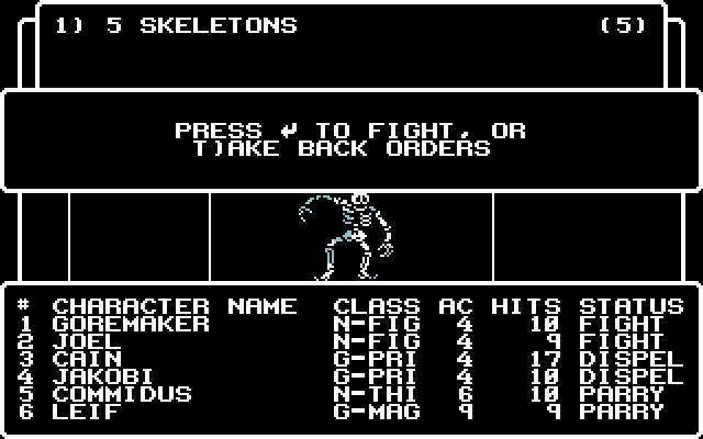 Auf dem C64 sah es nicht viel besser aus.