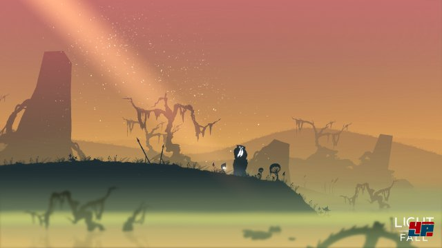 Screenshot - Light Fall (Linux)