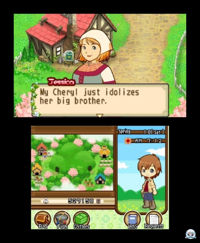Screenshot - Harvest Moon: The Tale of Two Towns (3DS) 2232228