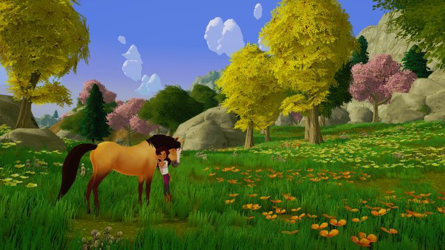 Screenshot - Dreamworks Spirit Luckys Großes Abenteuer (PC, PS4, Switch, One)