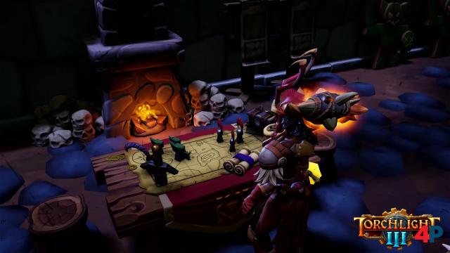 Wo man welche Elemente im Fort hinstellt, bleibt dem Spieler überlassen.