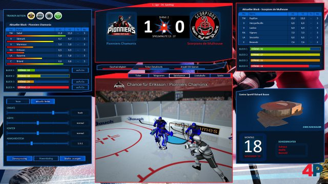 Screenshot - Eishockey Manager 20|20 (PC)