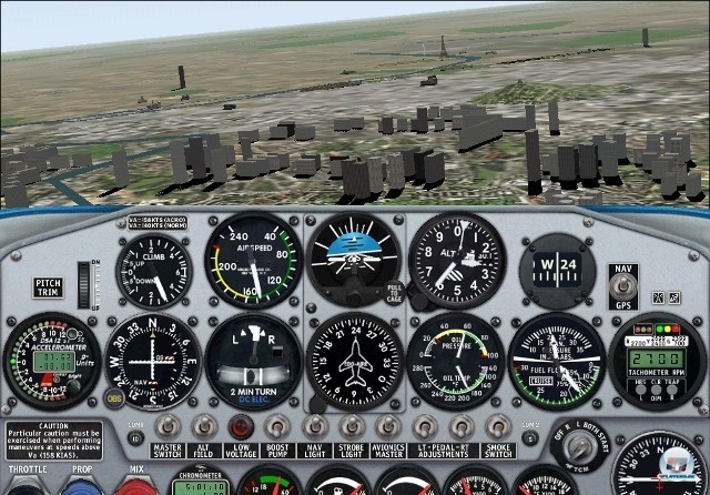 <b>Microsoft Flight Simulator 2000</b> <br><br>  In der Version 2000 sorgte das neue Mesh-Terrain für detaillierte Höheninformationen, von denen vor allem Schluchten und Berge profitierten. Neu dabei waren die Concorde und die Boeing 777, mit denen über 20.000 Flughäfen angeflogen werden konnten. 2241062