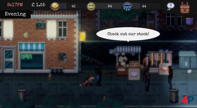 Screenshot - CHANGE: A Homeless Survival Experience (PC)