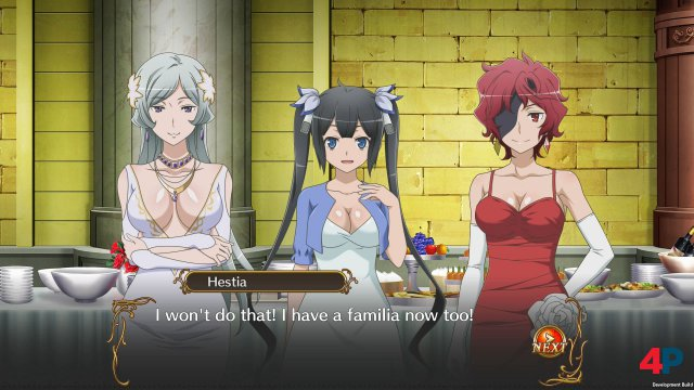 Screenshot - Is it wrong to Try to Pick Up Girls in a Dungeon? Infinite Combate (PC)