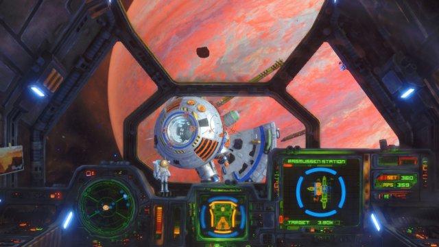 Manche Objekte, vor allem Raumstationen und Asteroiden, tauchen auf Switch leider erst spät auf...