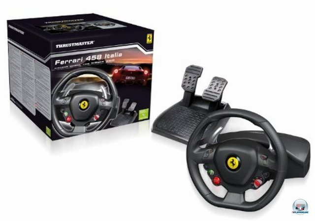 Screenshot - Ferrari 458 Italia Racing Wheel (360)