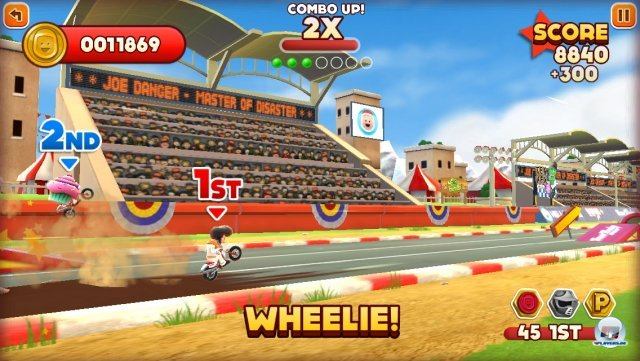 Screenshot - Joe Danger Touch (iPhone) 92439372