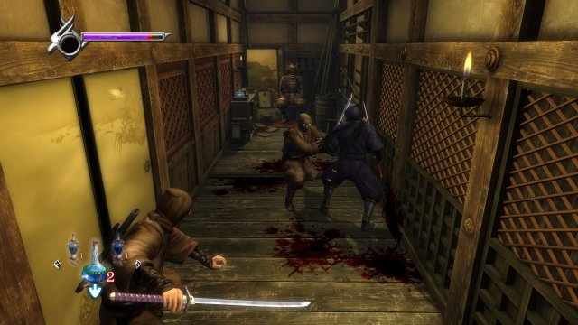 Enge Räume machen mitunter Probleme: Die Kameraführung in Ninja Gaiden Sigma kann mit modernen Spielen nicht mithalten.