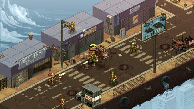 Screenshot - Metal Slug Tactics (PC)