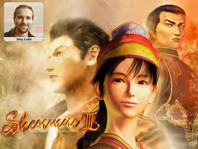 <b>Jörg: Shemue III</b><br><br>  Das Meisterwerk muss beendet werden: Wenn Yu Suzuki einverstanden ist, sammeln wir Kohle für Shenmue III - 100 Millionen Dollar sollten reichen. Die Welt will wissen, wie es mit Ryu weitergeht! 2352627
