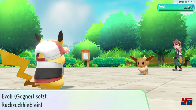 Screenshot - Pokémon: Let's Go, Pikachu! & Let's Go, Evoli! (Switch)