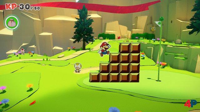 Screenshot - Paper Mario: The Origami King (Switch) 92619566