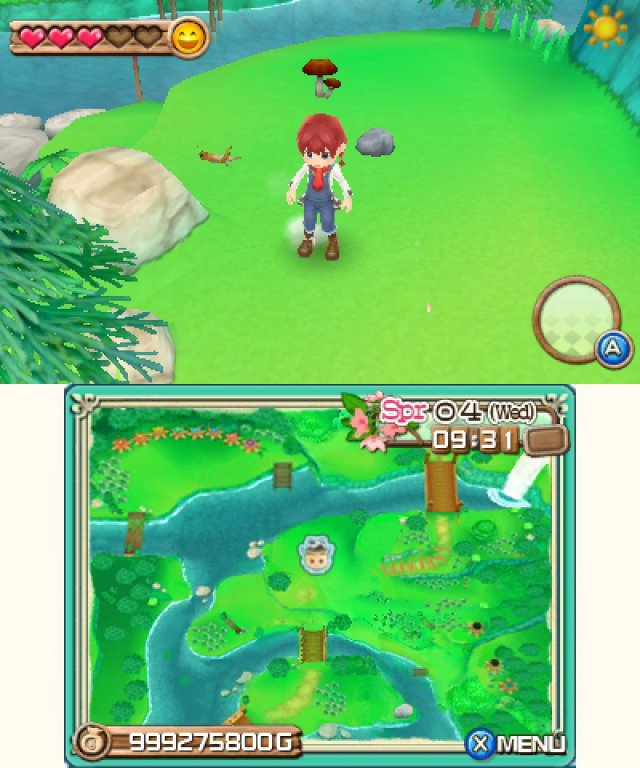 Screenshot - Harvest Moon 3D: A New Beginning (3DS) 92469863
