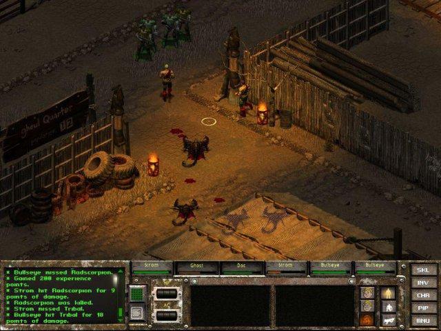 Fallout tactics setzte mehr auf Kampf als Rollenspiel.