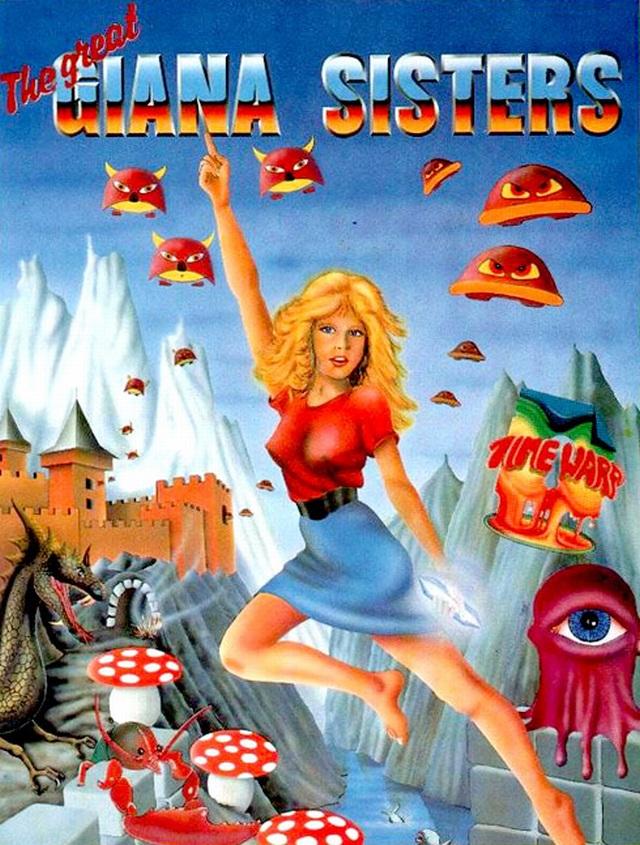 Giana (& Maria) <br><br> Man muss keine Latzhosen oder einen Schnauzbart tragen, um als Jump and Run-Held gefeiert zu werden. Okay, Giana Sisters waren nicht mehr als eine dreiste Kopie von den Super Mario Brothers, aber es war trotzdem toll. Allein dieser 80er-Jahre-Look des Titelbildschirms ist doch der Wahnsinn. Unfaire Welt: Während jeder Luigi als Marios Bruder kennt, ist Gianas grünhaarige (Zwillings-)Schwester Maria völlig in Vergessenheit geraten. Im jüngsten DS-Ableger ist sie sogar gar nicht mehr enthalten.  2147003