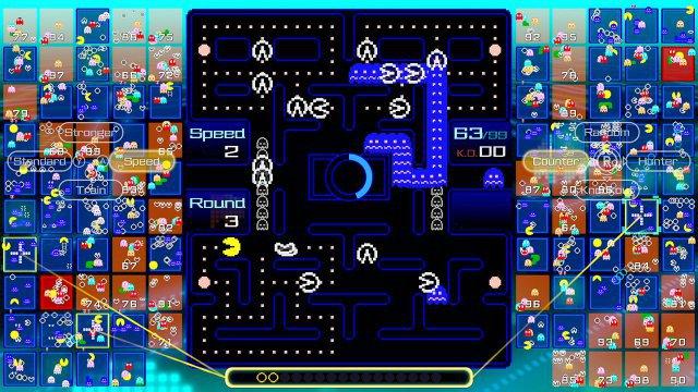 Zum Heulen: Eine Vielzahl weißer Jammer-Pac-Mans kann eine Flucht gehörig ausbremsen!