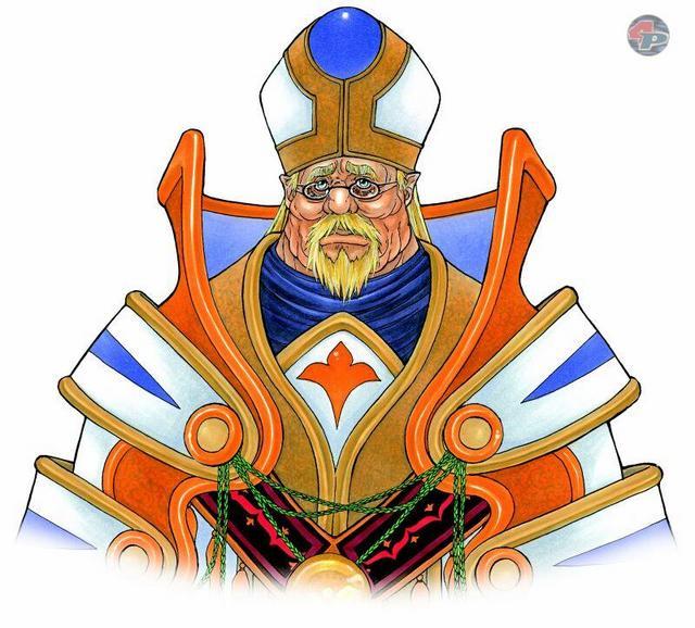 Das Oberhaupt der Kirche von Granas