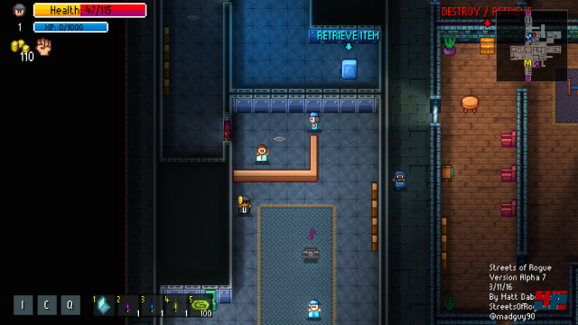 Screenshot - Streets of Rogue (Linux)
