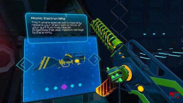 Man kann seine Waffe aus zig Versatzstücken in verschiedenen Kategorien zusammensetzen.