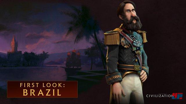 Civilization 6 wird zum Start am 21. Oktober acht spielbare Nationen anbieten: Brasilien, Azteken, Franzosen, Amerikaner, Ägypter, Chinesen, Japaner, Engländer.