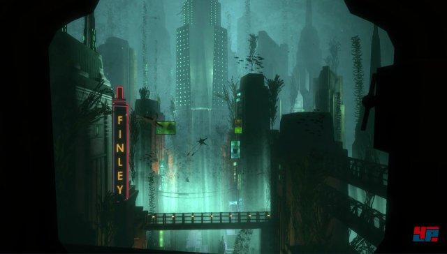 Zum ersten Mal auf Xbox One und PS4: Die Einfahrt in Rapture.