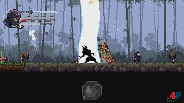 Screenshot - Pixel Shinobi: Nine demons of Mamoru (PC)
