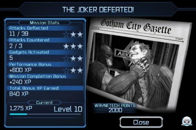 Screenshot - Batman: Arkham City Lockdown (iPhone) 2298517