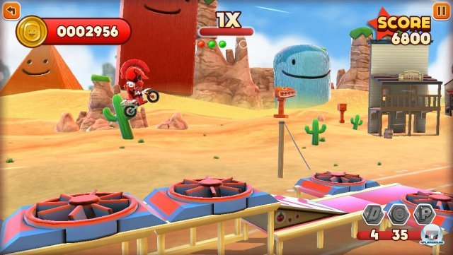 Screenshot - Joe Danger Touch (iPhone) 92439397