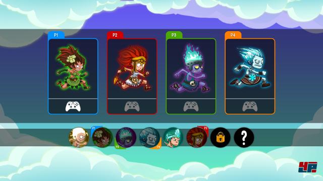 Screenshot - Running Gods (PC)