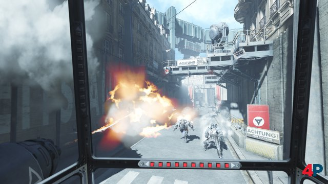 Screenshot - Wolfenstein: Cyberpilot (PlayStationVR) 92592989