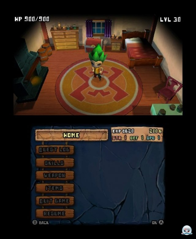 Screenshot - Planet Crashers (3DS)